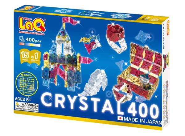 ラキュー LaQ フリースタイル クリスタル(400P)